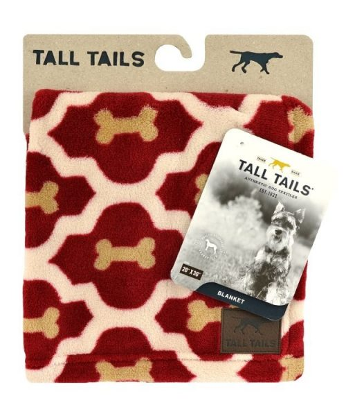 Tall Tails Bed Bone Blanket