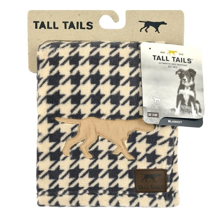 Tall Tails Houndstooth Blanket
