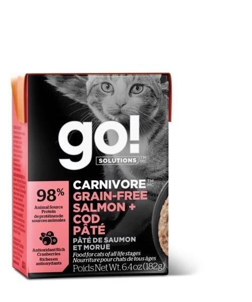 Go! Carnivore - Salmon & Cod Pate Cat Food