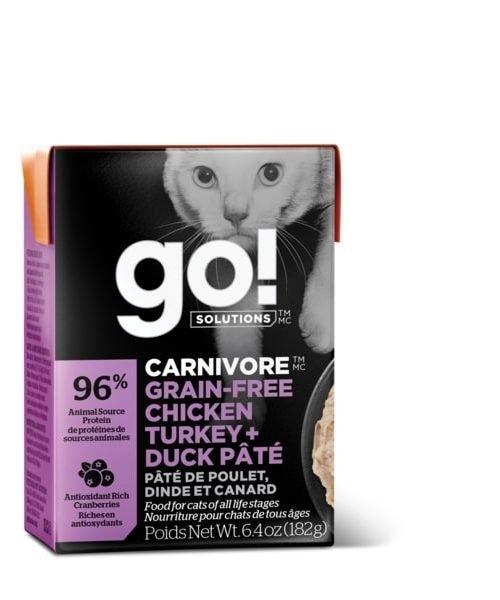 Go! Carnivore - Chicken Turkey & Duck Pate Cat Food
