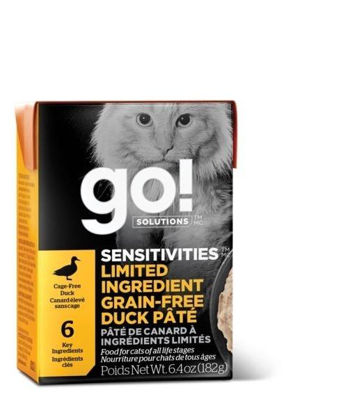 Go! Sensitivities - Duck Pate Cat Food