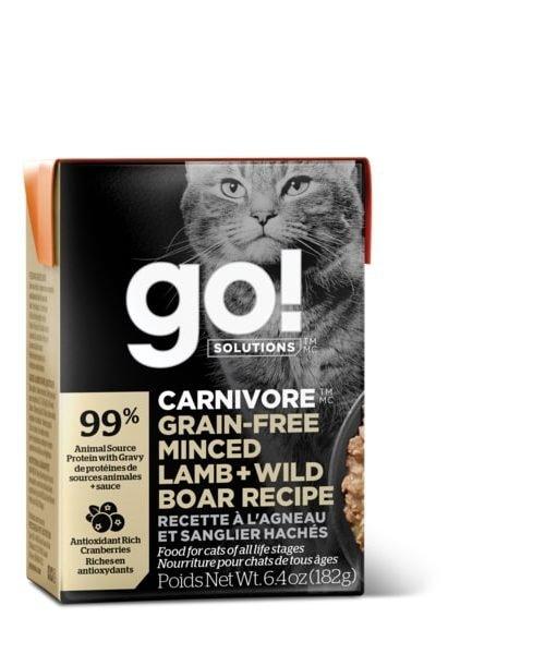 Go! Carnivore - Minced Lamb & Wild Boar Cat Food