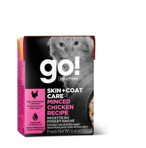 Go! Skin & Coat - Minced Chicken Cat Food