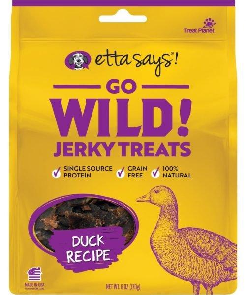 Etta Says Go Wild! Jerky Duck Recipe