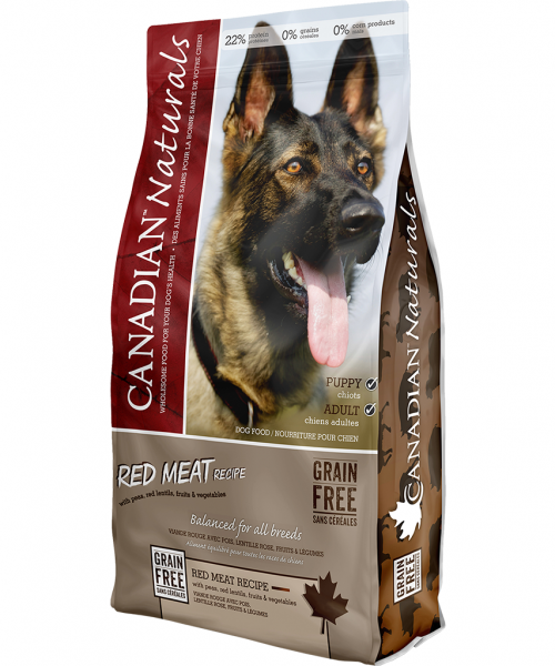 Canadian Naturals - GF Red Meat 25LB