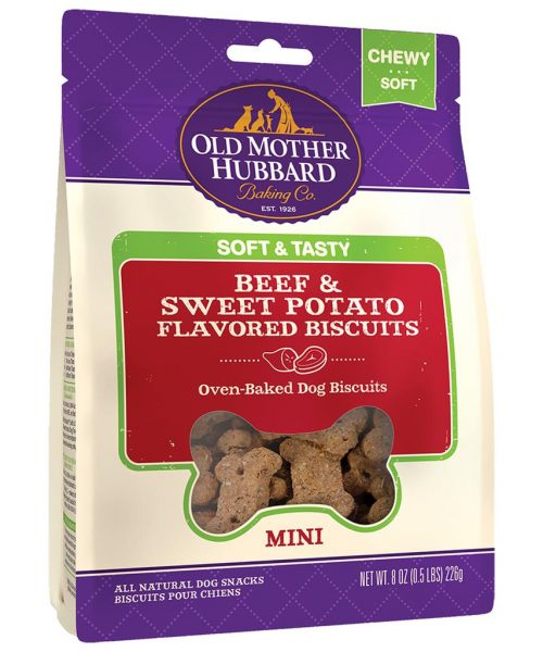 Old Mother Hubbard Soft & Tasty Beef & Sweet Potato Biscuits