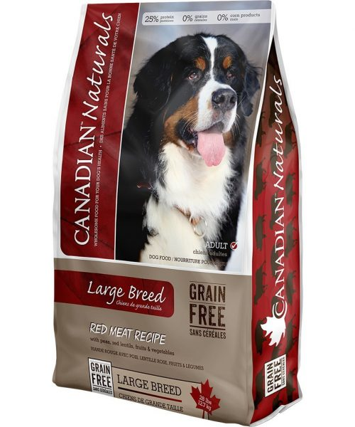 Canadian Naturals - Large Breed Red Meat 28LB
