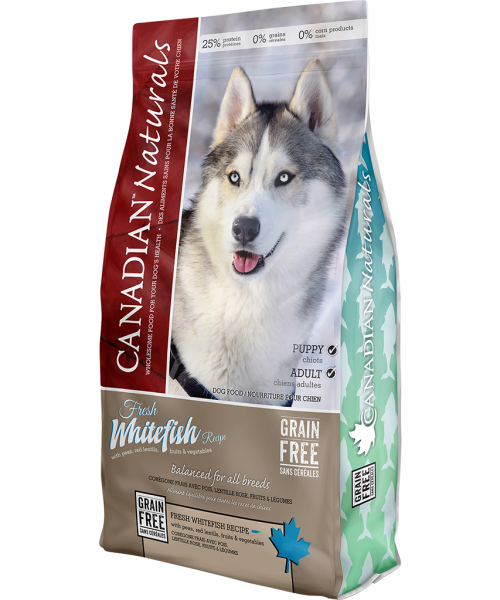 Canadian Naturals - Fresh Whitefish Dog Food Recipe 25LB