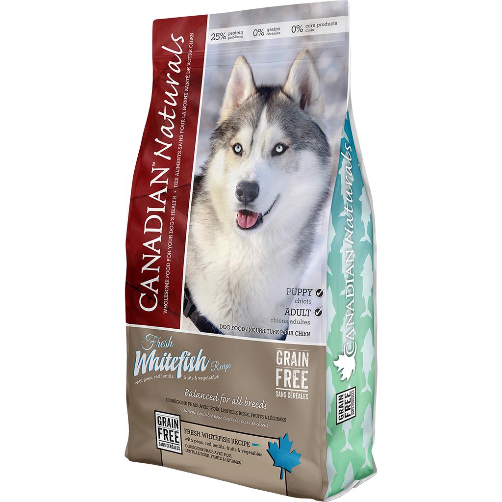 Canadian Naturals - Fresh Whitefish Dog Food Recipe 25LB