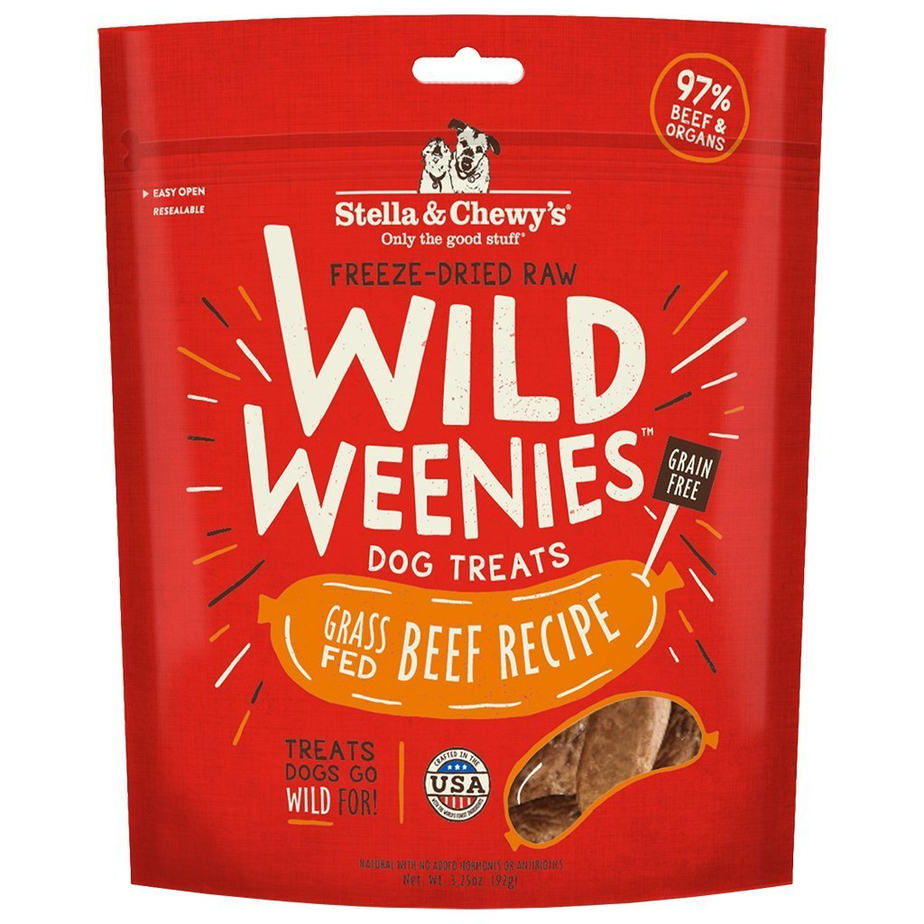 Stella & Chewy's Wild Weenies Grass Fed Beef