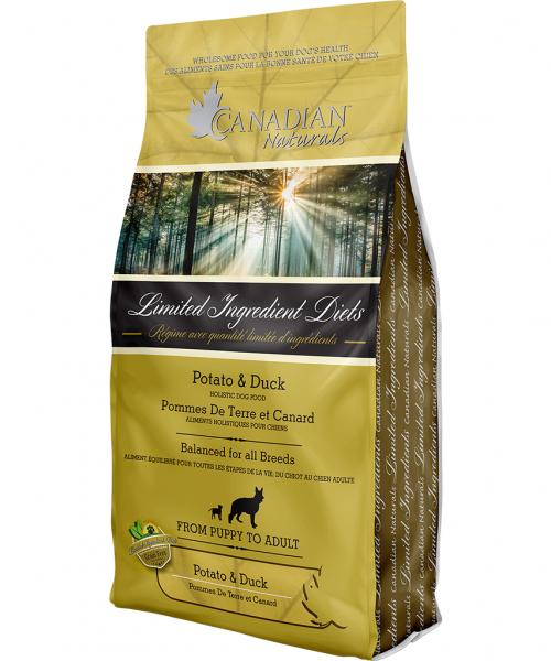 Canadian Naturals - Potato & Duck 25LB