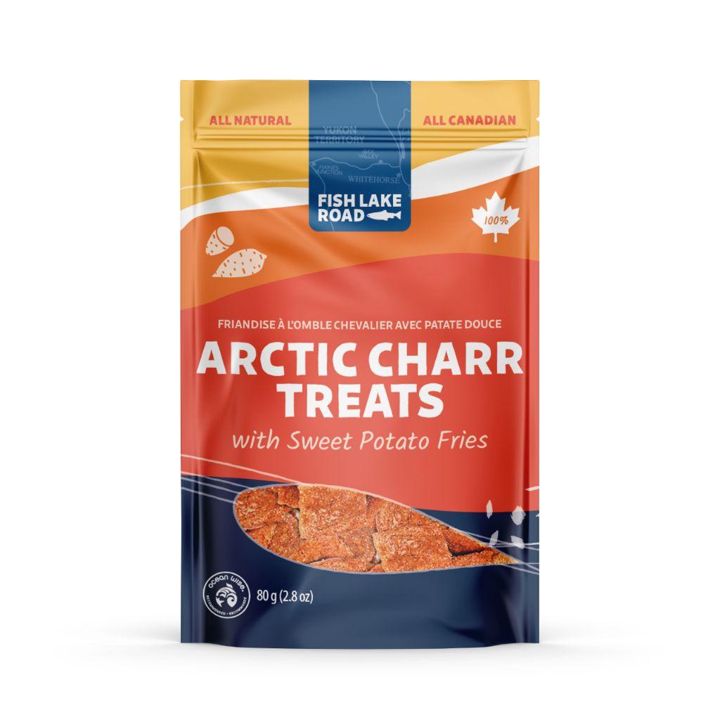 Arctic Charr with Sweet Potato Fries