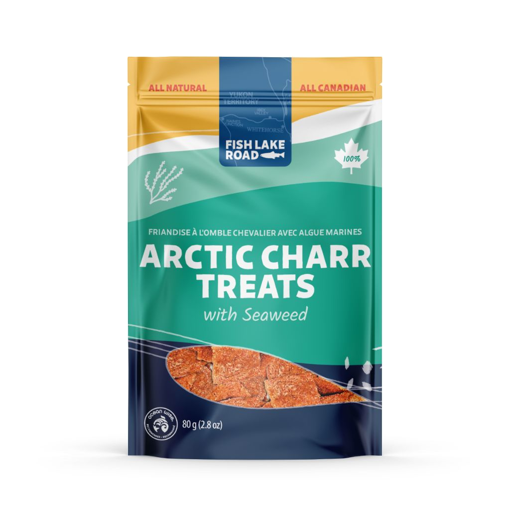 Arctic Charr with Seaweed