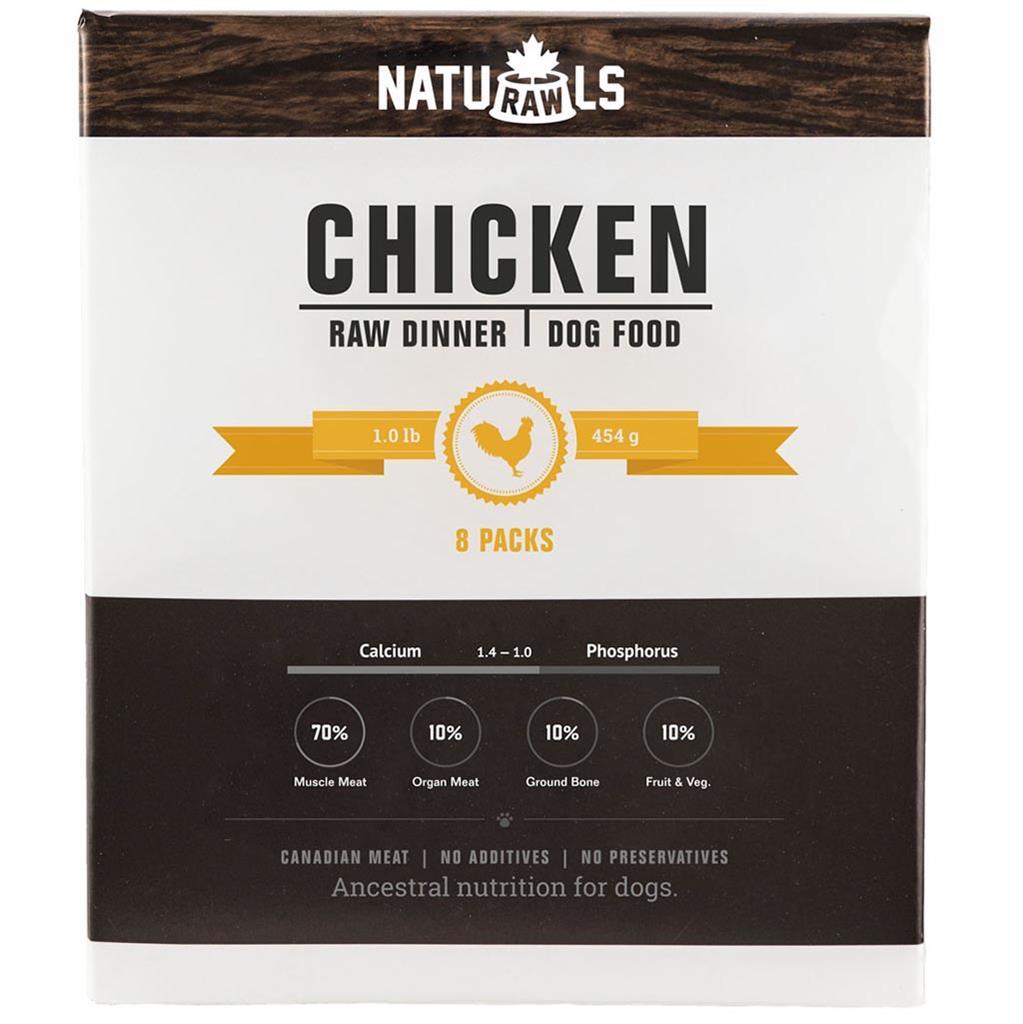Naturawls Raw Chicken Veggie