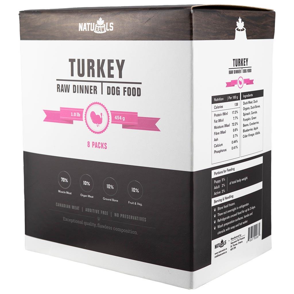 Naturawls Raw Turkey Veggies