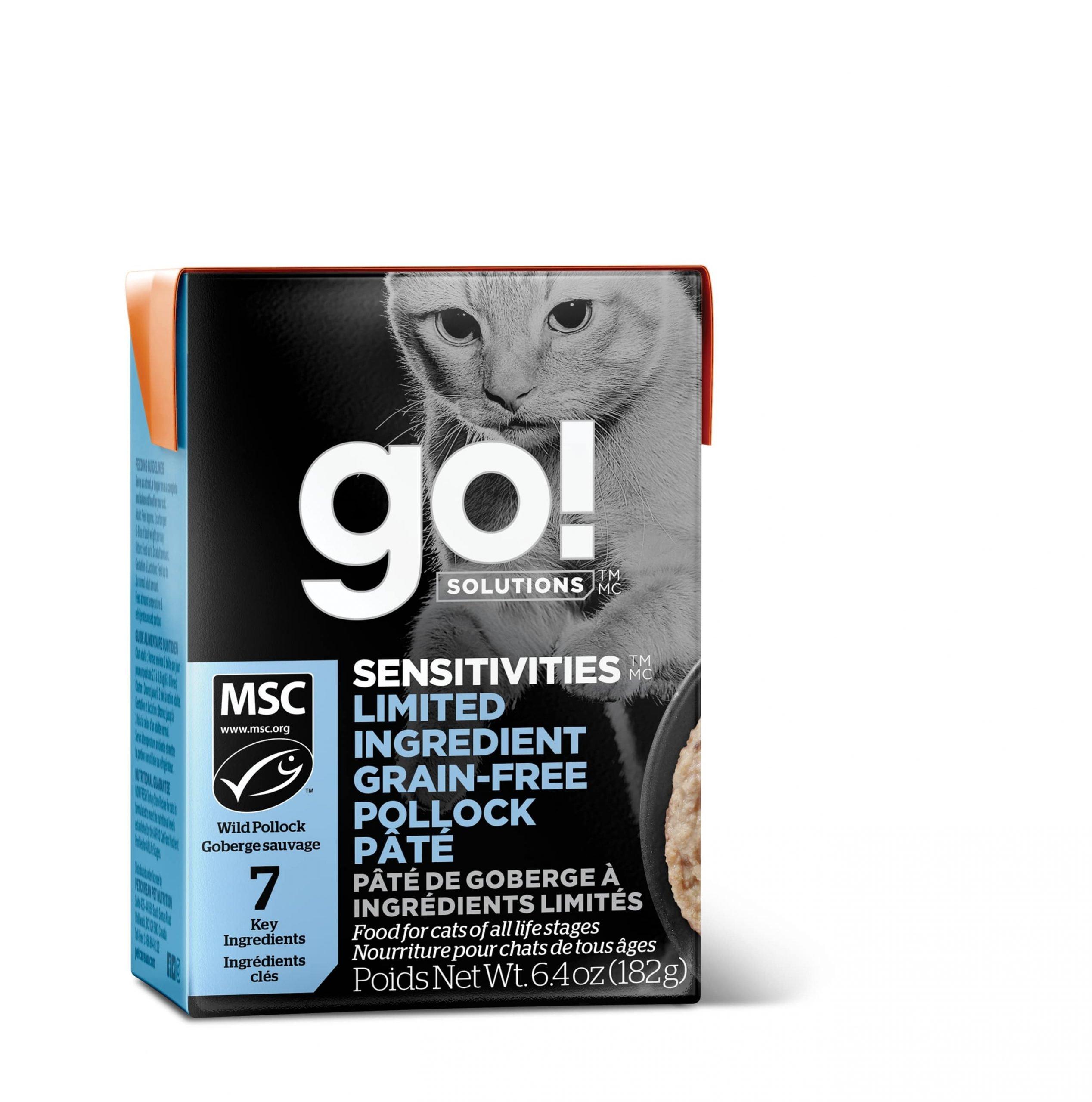 Go! Sensitivities - Pollock Pate Cat Food