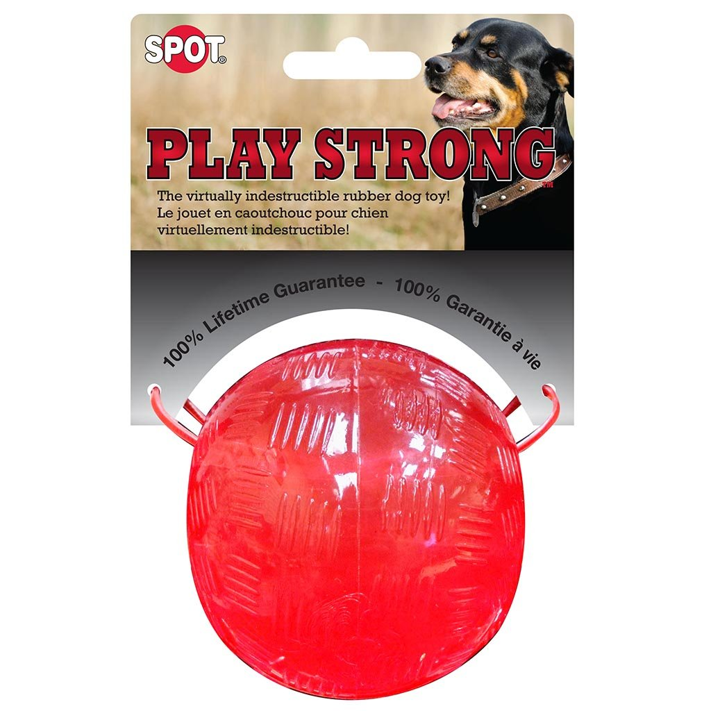 Play Strong Rubber Ball